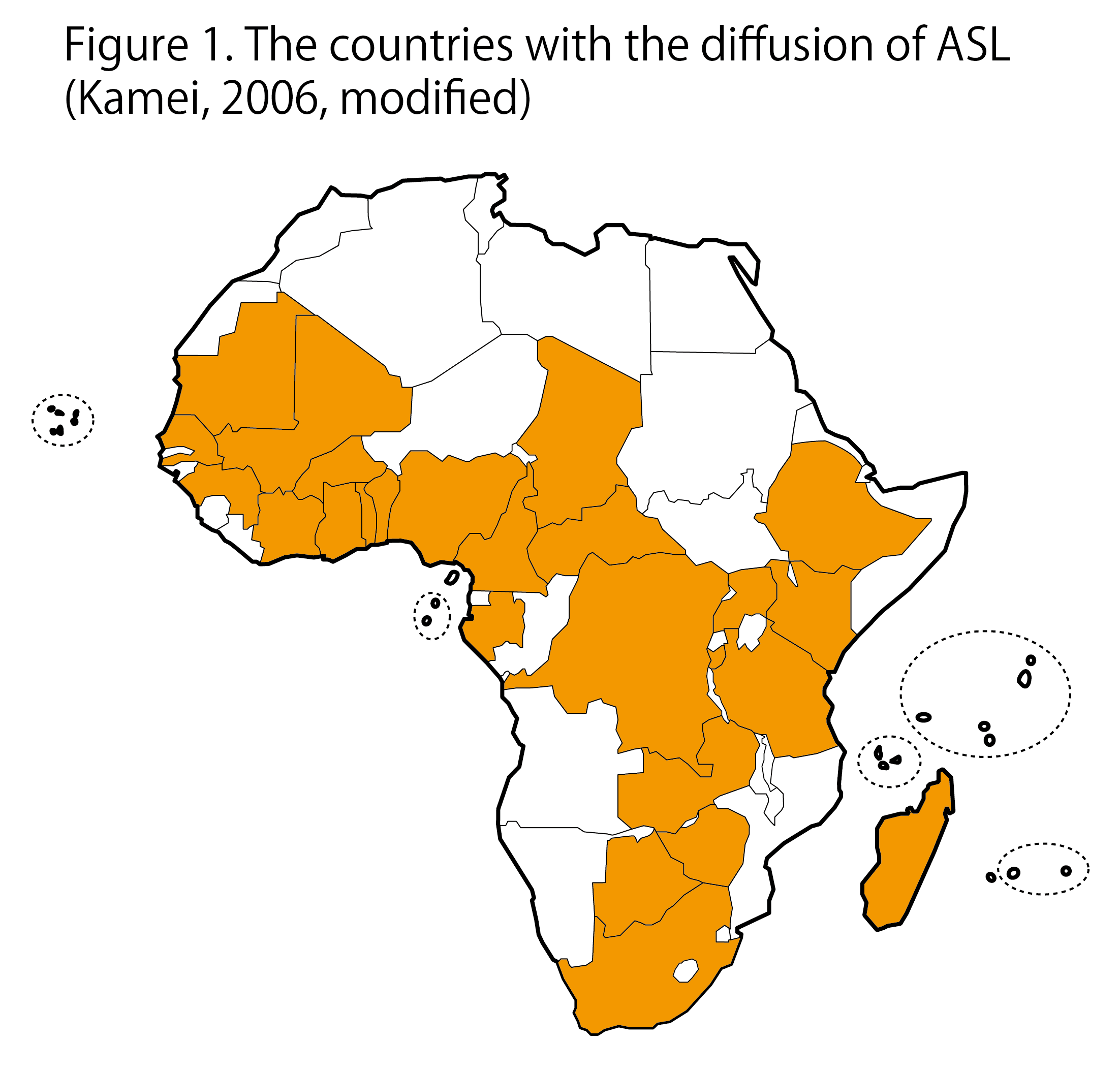 Nobutaka kamei through the comparison of these figures we can see that asl has spread to most french speaking african countries gumiabroncs Choice Image